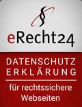 Datenschutzsiegel eRecht24