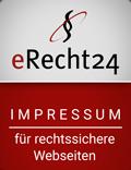 Impressum-Siegel eRecht24
